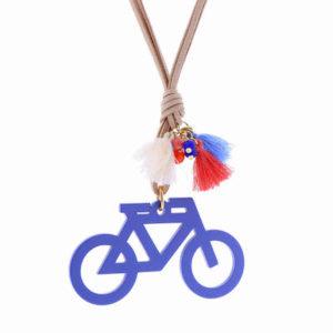 Collar Mancotí Bici Azul