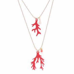 Collar Mancotí Coral Color Coral